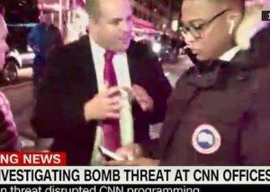 CNN xəbər kanalının binasında bomba təlaşı