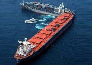 Egey dənizində iki gəmi toqquşub