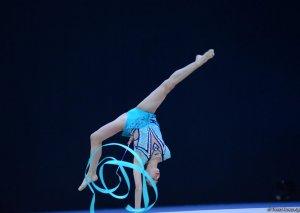 Milli Gimnastika Arenasında bədii gimnastika üzrə 25-ci Azərbaycan Birinciliyinin ikinci günü başlayıb