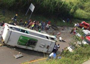 Kolumbiyada dəhşətli qəzada 13 idmançı öldü