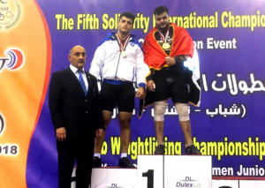 Ağır atletimiz gümüş medal qazandı