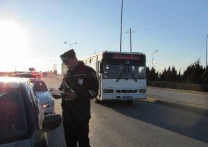 Bakıda REYD - 30-dan artıq sürücü saxlanıldı