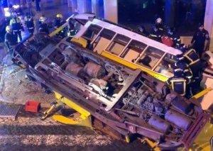Lissabonda tramvay qəzası zamanı 28 nəfər xəsarət alıb