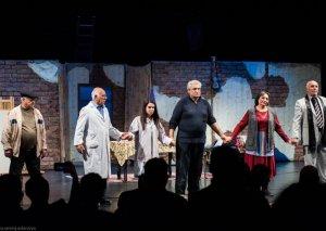 Milli Qəhrəman Koroğlu Rəhimov Milli Dram Teatrında yad olunub
