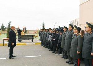 Prezident İlham Əliyev: Bu il imzalanmış bir çox önəmli kontraktların icrası nəticəsində Azərbaycana ən müasir silahlar və texnika gətiriləcək