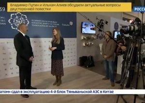"""Rusiyanın aparıcı """"Rossiya-24"""" telekanalı Azərbaycan haqqında """"Merci Baku"""" adlı xüsusi reportaj yayımlayıb"""