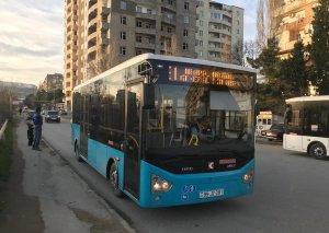 Bakıda 2 marşrut üzrə yeni avtobuslar fəaliyyətə başladı