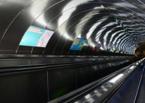 """""""Sahil"""" stansiyasında eskalatorun dayanma səbəbi məlum oldu"""