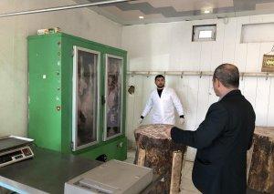 Nizami rayonunda 40-a yaxın qanunsuz ət satışı məntəqəsinə qarşı REYD keçirilib