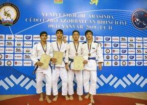 Cüdo üzrə Azərbaycan birinciliyinin qalibləri müəyyənləşib