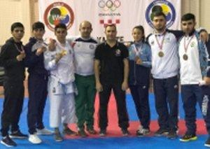 Karateçilərimiz Qran Pri turnirini 10 medalla başa vurdu