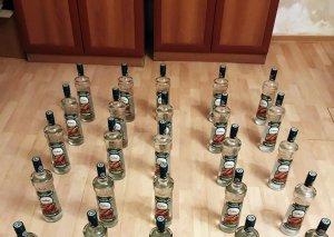 Azərbaycana aksiz markası olmayan 28 ədəd spirtli içki keçirilməsinin qarşısı alınıb