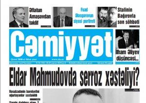 Cəmiyyət qəzeti - 18.01.2019