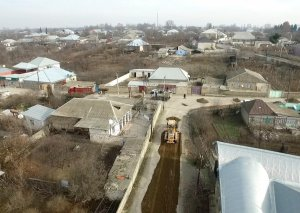 Ağstafada 9.3 km-lik avtomobil yolu yenidən qurulur