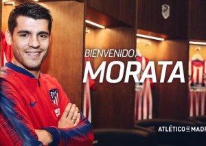 """Morata rəsmən """"Atletiko""""da"""
