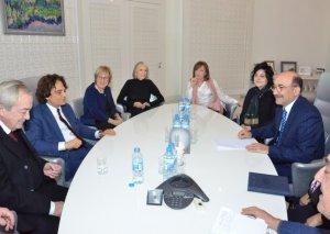 Mədəniyyət naziri Əbülfəs Qarayev italiyalı kinematoqrafçılarla görüşüb