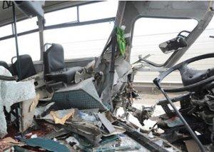 Ötən il Bakıda avtobusların iştirakı ilə 44 qəza olub - 23 nəfər ölüb