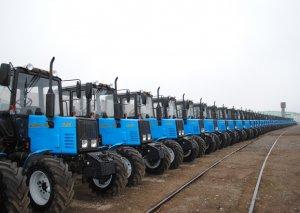 Ötən il Azərbaycana 1346 traktor gətirilib