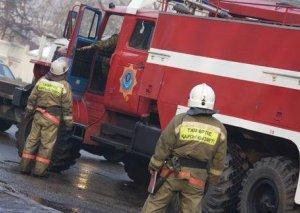 Astanada yanğın nəticəsində 5 uşaq ölüb