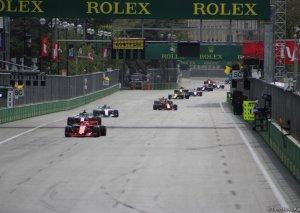 Formula 1 yarışı daha 3 il Azərbaycanda keçiriləcək
