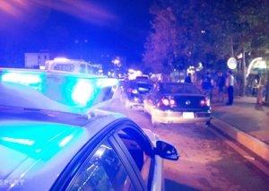 Qazaxda 2 avtomobil toqquşub, 1 nəfər xəsarət alıb