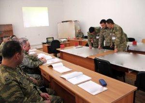 Azərbaycan Ordusunda komanda-qərargah təlimi keçirilir