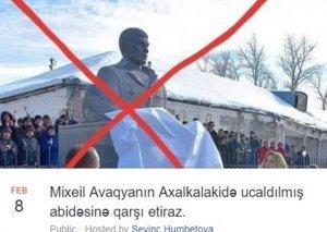 Azərbaycanlıların Tbilisidə kütləvi etiraz aksiyasına icazə verilib