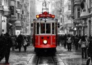 Taksim tramvayı bu gün 105 yaşını qeyd edir