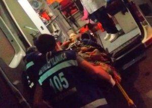 """Bakıda motosikletli kuryer """"Cadillac""""la toqquşdu: Bir nəfər reanimasiyaya yerləşdirildi"""