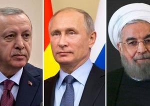 Putin, Ərdoğan və Ruhani Soçidə Suriya problemini müzakirə edəcək