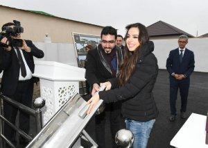 Heydər Əliyev Fondunun vitse-prezidenti Leyla Əliyeva Balaxanıda sahibsiz itlərə qayğı mərkəzinin açılışında iştirak edib