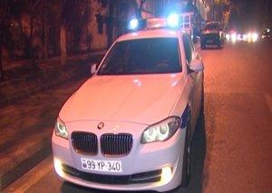 Paytaxtda gecə saatlarında qayda pozuntusu törədən sürücülər saxlanılıb