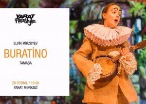 """""""Buratino"""" """"YARAT""""ın səhnəsində..."""