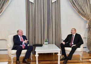 Prezident İlham Əliyev Avropa Komissiyasının nümayəndə heyətini qəbul edib