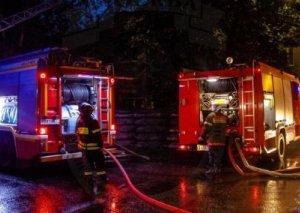 Zabratda məcburi köçkünlərin məskunlaşdığı 4 ev yandı