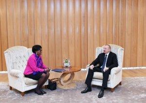 Prezident İlham Əliyev Dünya Bankının Cənubi Qafqaz üzrə regional direktoru ilə görüşüb