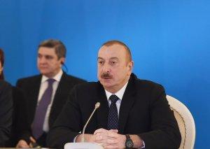 Azərbaycan Prezidenti: Biz Cənub Qaz Dəhlizi layihəsinin reallaşdırılmasına inanırıq və hesab edirik ki, hər birimiz üçün bu, uzunmüddətli uğur hekayəsi olacaq