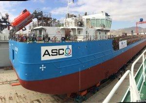 Azərbaycanda yeni tanker suya buraxılıb