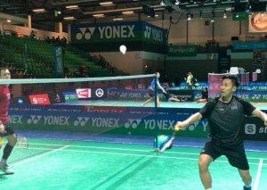 Badmintonçumuz Almaniyada güclülərin turnirində iştirak edib