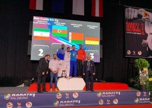 Karateçilərimiz Seriya A turnirində qızıl və bürünc medal qazanıblar