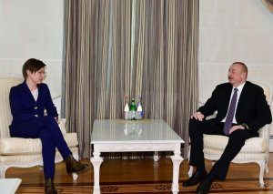 Prezident İlham Əliyev BMT İnkişaf Proqramının rəhbərinin müavinini qəbul edib