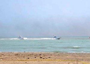 Sumqayıtda dənizdə batdığı ehtimal edilən şəxsin axtarışları aparılır