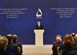 Prezident İlham Əliyev: Bu gün Azərbaycan nümayiş etdirir ki, yalnız multikulturalizmin təşviqi ilə dünya irəli gedə, gərginlik azala bilər