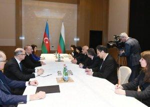 Prezident İlham Əliyev Bolqarıstanın Baş naziri ilə görüşüb