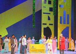 Daşkənddə Firudin Səfərovun tamaşaya qoyduğu yeni operanın ilk tamaşası olub