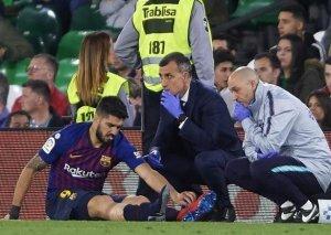 """""""Barselona""""da ciddi itki - Suares 3 həftə oynamayacaq"""