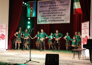 """""""Testene Art Baku"""" III Beynəlxalq İncəsənət müsabiqəsinin qala konserti keçirilib"""