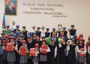 Millət vəkili sağlamlıq imkanları məhdud olan uşaqları Novruz bayramı münasibətilə təbrik edib