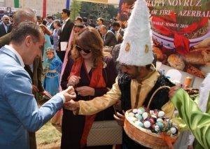 Pakistanda Novruz şənliyində Azərbaycan pavilyonuna xüsusi maraq olub