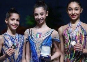 Azərbaycan gimnastı Fransada iki medal qazanıb